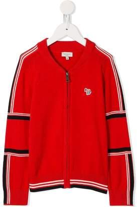 Paul Smith stripe zip jumper