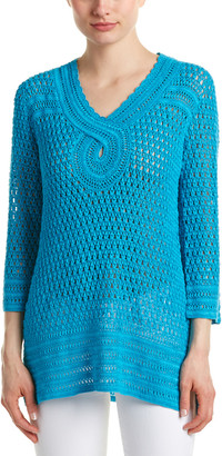 Calypso St. Barth Tessina Linen Sweater
