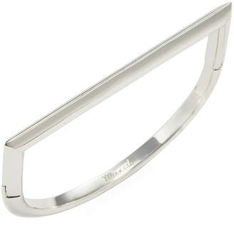 Miansai Silver Polished Bar Bangle