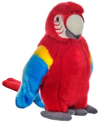 National Geographic Red Tropical Parrot Plush by Lelly