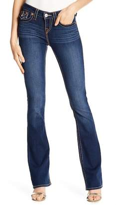 True Religion Boot Cut Topstitched Jeans
