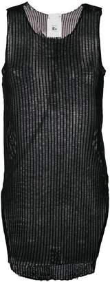 Lost & Found Rooms sheer tank top