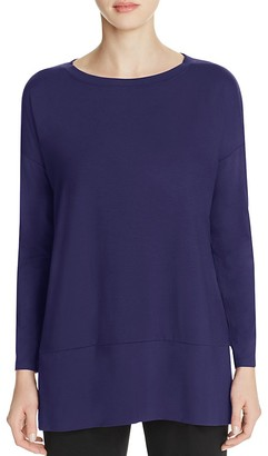 Eileen Fisher Drop Shoulder Tunic - 100% Exclusive $138 thestylecure.com