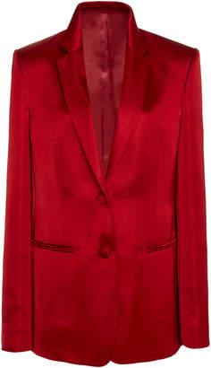 Helmut Lang Satin Tuxedo Blazer