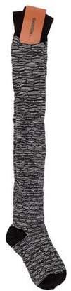 Missoni Striped Over-The-Knee Socks w/ Tags