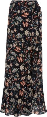 Adriana Degreas Printed Wrap Skirt