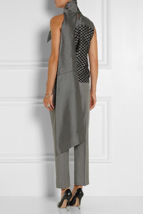 Haider Ackermann Silk-blend jacquard top