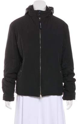 Armani Jeans Hooded Zip-Up Jacket