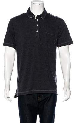 Billy Reid Short Sleeve Polo Shirt