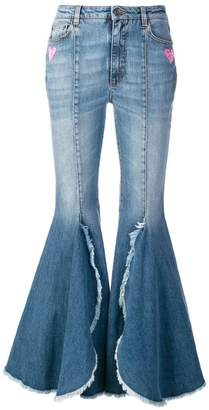 Dolce & Gabbana flared high waisted jeans