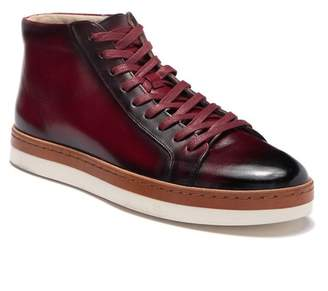 Steven Land Leather High Top Sneaker (Men)