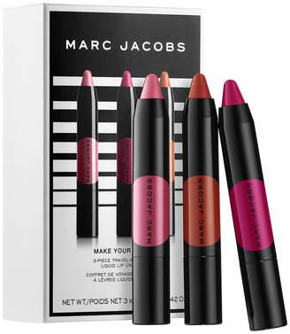 Marc Jacobs BEAUTY Beauty Make Your Le Marc 3 Piece Mini Liquid Lip Crayon Set