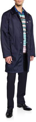 Prada Men's Gabardine Wind-Resistant Overcoat