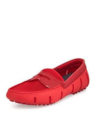 Swims Mesh & Rubber Penny Loafer, Red $185 thestylecure.com