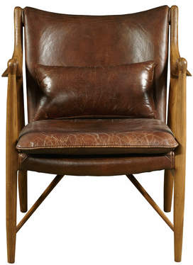 Highway Harmony Leather Armchair