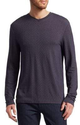 Giorgio Armani Stretch Long-Sleeve Tee