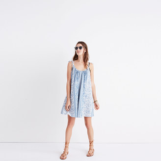 Madewell Havana Cover-Up Dress in Island Ikat