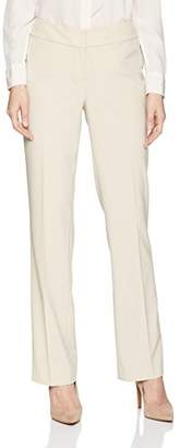 Nine West Women's BI Stretch Crepe Trouser Pant