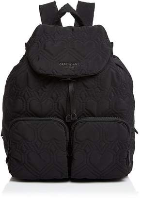 Kate Spade Large Quilted Heart Backpack