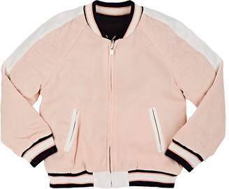 Chloé Kids' Toucan-Embroidered Bomber Jacket