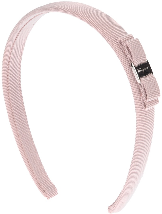 Salvatore Ferragamo bow panel hairband