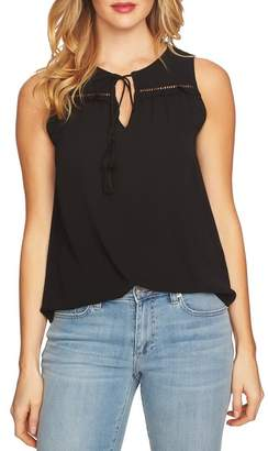 Cynthia Steffe CeCe by Sleeveless Tie Front Blouse