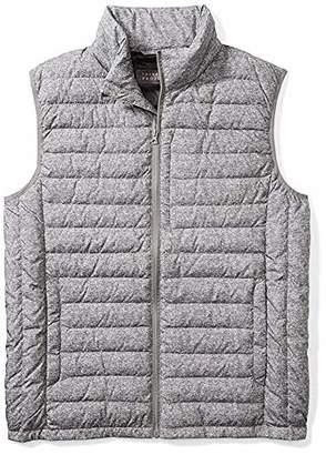The Plus Project Men's Big Tall Light Down Vest Chest Pocket 4X-Large