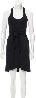 Halston Draped Racerback Dress w/ Tags