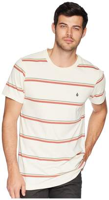 Volcom Sheldon Crew Short Sleeve Knit Top Men's Clothing