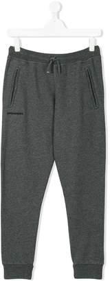 DSQUARED2 teen drawstring-waist track pants