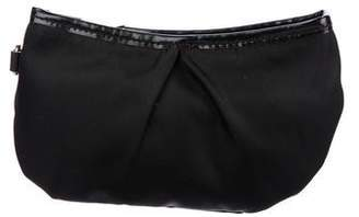 MZ Wallace Leather-Trimmed Cosmetic Bag