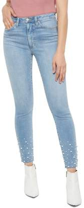 Joe's Jeans Flawless - Charlie Pearl Hem Ankle Skinny Jeans