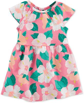 Carter's Baby Girls Floral-Print Cotton Sundress