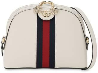 Gucci OPHIDIA LEATHER SHOULDER BAG