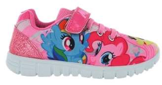 My Little Pony William Lamb Girls MLP Hook and Loop Trainers UK Size 6