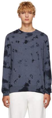 A.P.C. Blue Tie Dye Sweater