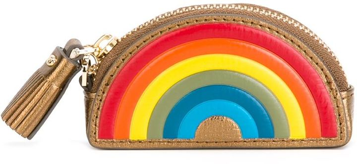 Anya Hindmarch Anya Hindmarch 'Rainbow' coin purse