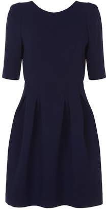 Claudie Pierlot Pleated Skirt Dress