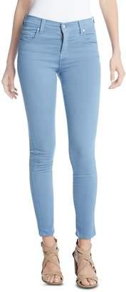 Karen Kane Zuma Cropped Skinny Jeans in Water
