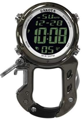 Dakota Digital Zip Clip Bottle Opener Watch Gunmetal