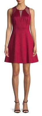 GUESS A-Line Wine Dress
