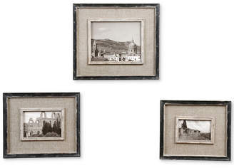 Uttermost Kalidas Cloth Lined Photo Frames, Set of 3