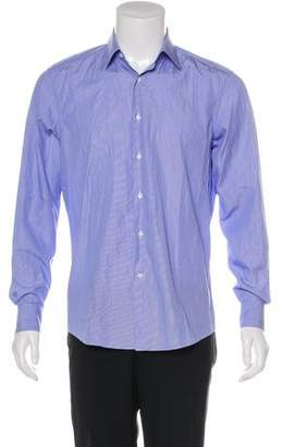 Salvatore Ferragamo Pinstriped Button-Up Shirt