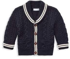 Ralph Lauren Boy's Aran Knit Cardigan