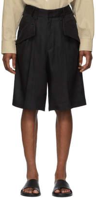 Jacquemus Black Le Short Marin Shorts