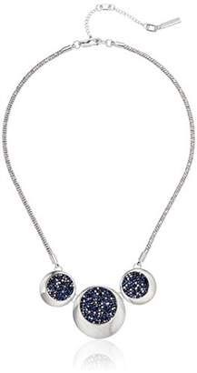 Kenneth Cole New York Three Sprinkle Stone Frontal Necklace