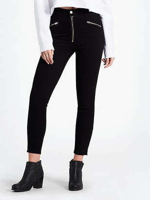 Levi's Mile High Moto Ankle Jeans