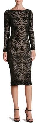 Women's Dress The Population 'Emery' Sequin Midi Dress $258 thestylecure.com