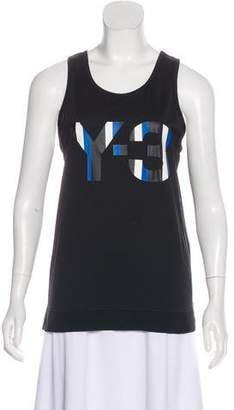 Y-3 Sleeveless Athletic top