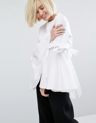 Style Mafia Martine Volume Sleeve Top $158 thestylecure.com